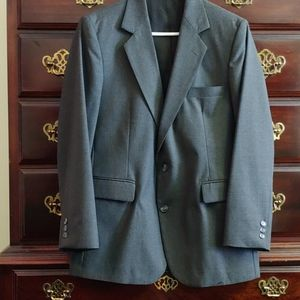 Imperial by Haggar gray suit coat 42s.